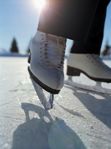 Ice Skating. Photo Courtesy of www.lakegenevawi.com