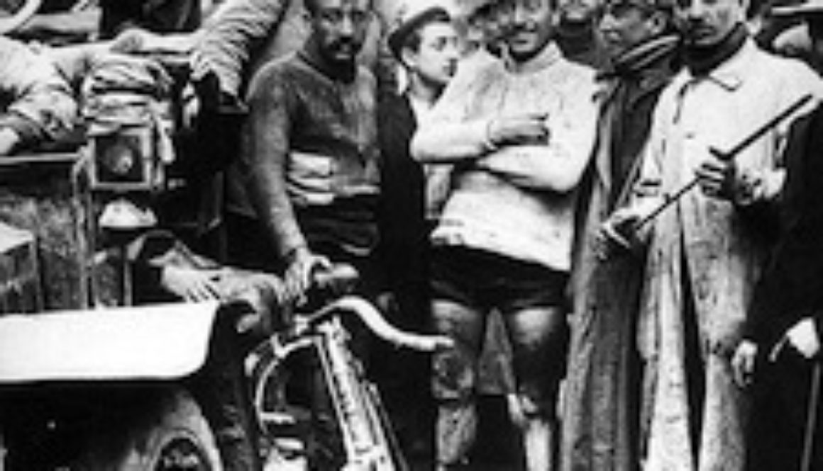 Maurice Garin's victory at the 1903 Tour de France. Photo Courtesy of Nationaal Archief of the Netherlands.