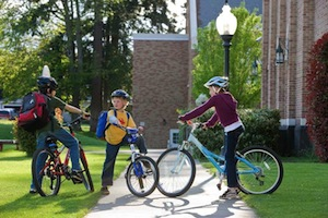Learning bicycle safety at an early age will make children become responsible riders as s adults. Photo Courtesy of worldofbikes.com.